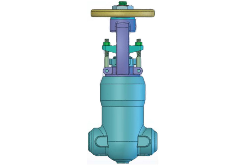 Pressure Seal Forged Steel Gate Valve